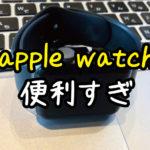 【apple watchレビュー】購入して2年間飽きずに使う理由とできること。使いこなすには何に使いたいかが大事!【まじで便利】