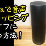 【Alexa】amazon echoで音声で購入をオフにする方法。子供がいる家庭は絶対設定しよう。